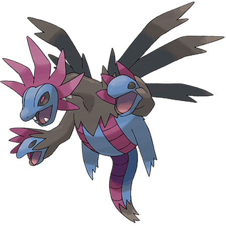 Pokemon Hydreigon Coloring Pages Images | Pokemon Images
